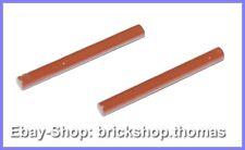 Lego 2 x Stab Lichtschwert - 30374 - Bar 4L Lightsaber Blade Reddish - NEU / NEW