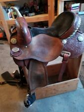 JBN Barrel Saddle 14.5 Treeless Circle Y