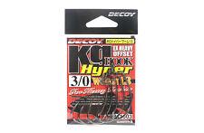 Decoy Worm 13KG Hyper Extra Heavy Duty Offset Worm Hooks Size 3/0 (1603)
