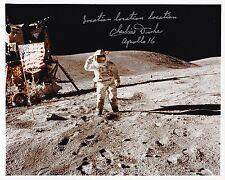 NASA Astronaut Charlie Duke Apollo 16 Signed Photo