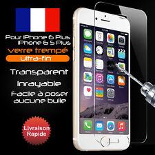Vitre protection film protecteur d'écran verre trempé pour iPhone 6 plus/6S PLUS