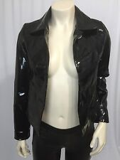 Behnaz Sarafpour For Target Patent Leather Jacket Black Size XS