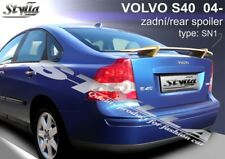 SPOILER REAR BOOT VOLVO S40 WING ACCESSORIES