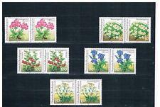 Ungeprüfte Briefmarken aus der BRD (ab 1948) mit Pflanzen-Motiv als Satz