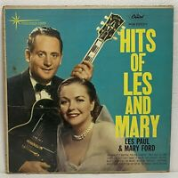 Les Paul & Mary Ford – Hits Of....: Capitol Records 1960 Vinyl LP (Pop / Vocal)