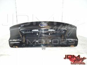 Used JDM Subaru Impreza WRX STi Black Wingless Trunk 2015-2020