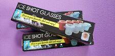 Ice Shot Glasses, Freeze Your Favorite Shot & Enjoy, Four Pack,  8.99 free ship!
