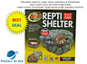 """Zoo Med Repti Shelter 3 in 1 Cave Large 12"""" Wide For snakes,lizards, amphibians"""