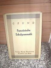 Französische Schulgrammatik, Grund, aus dem Verlag Mori