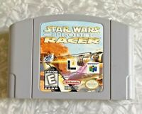 N64 Star Wars Episode One Racer Nintendo 64 Cartridge Cleaned & Tested VG+