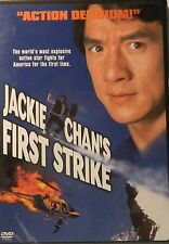 Stanley Tong's JACKIE CHAN's FIRST STRIKE (1996) Jackie Chan Chen Chun Wu SEALED