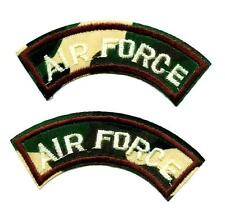 Set á 2 Air Force Army Patch Patch ejército us x