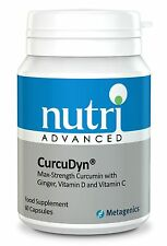 CurcuDyn - 60 Caps by Nutri Advanced - Curcumin with Ginger & Vitamins D & C