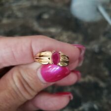 14k Ring With Ruby