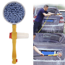 Auto Spiffy Extendable Pole Revolving Care Washing Brush Sponge Cleaning Supply