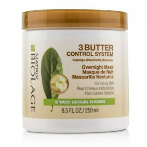 Matrix Biolage 3 Butter Control System Overnight Mask 8.5 oz