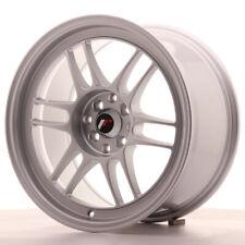 Japan Racing JR7 Alloy Wheel 17x9 - 4x100 / 4x114.3 - ET35 - Silver