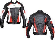 Motorcycle Leather Biker Jacket Motorbike Leather Fashion Armour Rider Jacket
