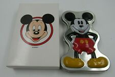 Disney Time Works Mickey Mouse Date and Time Watch Mickey Shaped Collector Tin