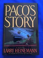 PACO'S STORY - 1ST. ED. NATIONAL BOOK AWARD WINNER SIGNED BY LARRY HEINEMANN