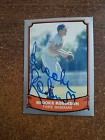 Brooks Robinson 1988 Pacific Autographed Baseball Card  Alex Stern Collection