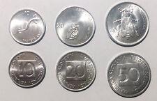 Slovenia set of 3 coins lot 10 20 50 Stotinov 1992/1993  axolotl owl bee UNC