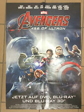 Robert Downey Jr Chris Hemsworth - Avengers: Age of Ultron - German promo POSTER