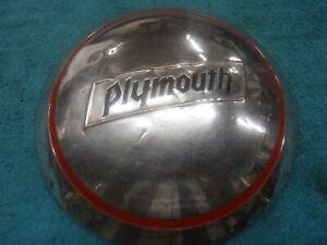 1934,35 Plymouth Dog Dish Hub Cap Used OEM