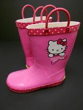 Hello Kitty Rubber Rain Boots Size 11/12~Western Chief~ Ballerina~ Toddler~Girls