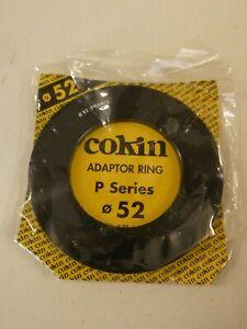 Cokin P Series 52mm Adaptor Ring - new, unopened pack