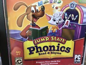 Knowledge Adventure JumpStart Phonics Read & Rhyme-B38 18
