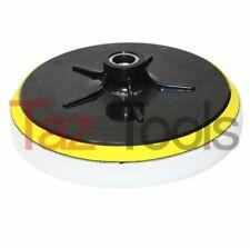 "7"" Foam Polisher Buffer Pad W/ Hook & Loop Backing & Pad+ Foam 1.5"" 5/8"" x 11 NC"