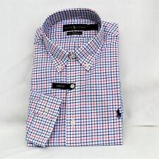Ralph Lauren Slim Fit 100 % Cotton Stretch M Classics Blue LS Shirt S