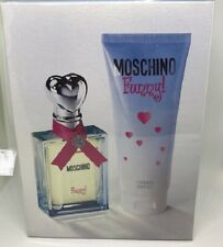 MOSCHINO FUNNY 2 PCS TRAVEL SET WOMEN 1.7 oz / 50 ml + 3.4 oz / 100 ml BODY GEL
