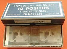 VERDUN stéréofilms Bruguière 12 positifs stéréoscopiques  n°277