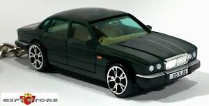 RARE KEY CHAIN RACING GREEN JAGUAR XJ6 XJ40 XJR 1987~2003 CUSTOM LIMITED EDITION