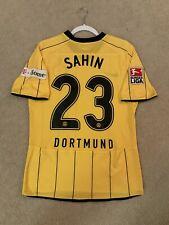 Nike 2008-2009 Borussia Dortmund *MATCH WORN* Home Jersey Sahin 23 Sz M