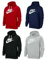 Mens Nike Hoodie Sportswear Club Fleece Hoody Graphic Pullover Sweat-Shirt S-XL