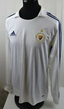 Djurgardens FC Stockholm Away Long Sleeve Football Shirt L Large Trikot Maglia