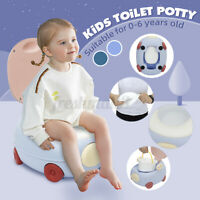 Training Potty Trainer Safety Kids Baby Toddler Toilet Cute Seat Chair Anti-Slip