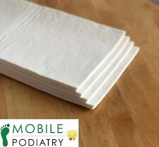 Hapla Chiropody Felt Sheet (2mm, 3mm, 5mm, 7mm, 10mm - multiple sizes)