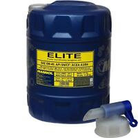 20 Liter MANNOL Elite 5W-40 API SN/CF Motoröl Engine Oil Öl inkl. Auslaufhahn