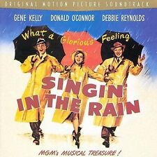 1 CENT CD Singin' in the Rain SOUNDTRACK gene kelly, debbie reynolds