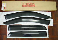 FOR TOYOTA HILUX MK6 7 SR SR5 SIDE VISOR RAIN SHIELD WIND DEFLECTOR GUARD D-CAB