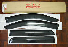 TOYOTA HILUX MK6 MK7 SR SR5 SIDE VISOR RAIN SHIELD WIND DEFLECTOR GUARD D-CAB
