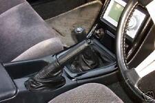 89-94 FITS NISSAN SKYLINE R32 GTS GTR GTST HANDBRAKE BOOT BLACK LTHR COVER