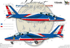 """[FFSMC Productions] Decals 1/72 Alphajet E """"Patrouille de France"""""""