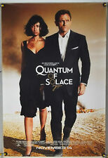QUANTUM OF SOLACE DS ROLLED ADV ORIG 1SH MOVIE POSTER JAMES BOND 007 (2008)