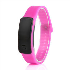 New Digital LED Sports Watch Unisex Silicone Band Men Women's Wristwatches Hot
