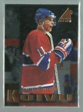 1997-98 Pinnacle Inside Coach's Collection #13 Saku Koivu (ref50185)